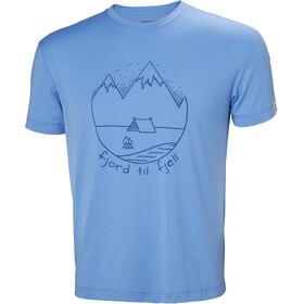 Helly Hansen Skog Graphic T-Shirt Men cornflower